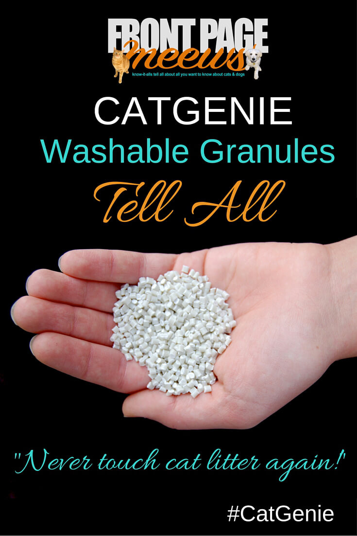 catgenie washable granules tell all - Catgenie Com