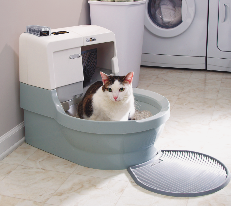 Cleaning your CatGenie 120
