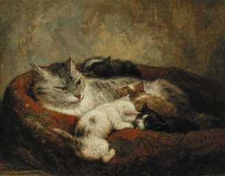 Sharing Cat Pictures Is Nothing New